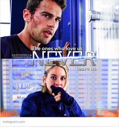 tell Tobias I didn't want to leave him. Divergent Theo James, Tris And Tobias, Divergent Fandom, Divergent Insurgent Allegiant, Divergent Quotes, Divergent Series, Tragic Love Stories, Love Story, Fangirl