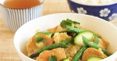 After a hard days work, this green curry is a quick and nutritious meal to whip up in minutes.