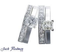 solitaire engagement rings with matching bands jackfriedman.co.za