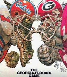 Georgia Bulldogs vs Florida Gators