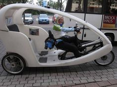Electric solar bike