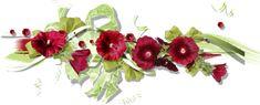 GIFS HERMOSOS: separadores y flores encontradas en la web