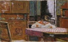 Interior with Boy by Pierre Bonnard from Phillips Collection, 1923