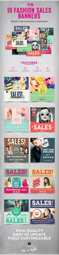 Fashion Sales Banners
