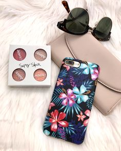 We love our Florals Lilac Kiss Floral Case for iPhone 7 & iPhone 7 Plus from Elemental Cases