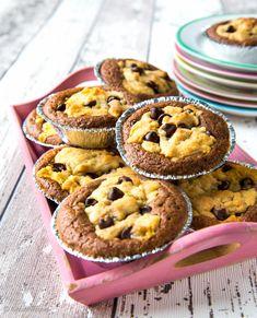 Cookie-brownies | Reseptit | Kinuskikissa Brownie Cookies, Let Them Eat Cake, Recipies, Food And Drink, Cupcakes, Sweets, Vegan, Baking, Breakfast