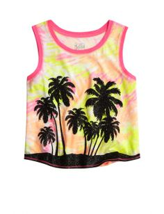Graphic Crop Sleeveless Tee   Girls Tops & Tees Clearance   Shop Justice