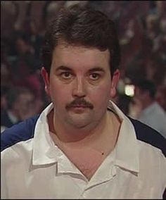 Phil Taylor - old school pic of 'the power'.  He's a legend.