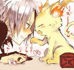 Image via We Heart It https://weheartit.com/entry/18799452/via/7493140 #anime #cat #owt