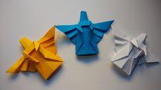 Como hacer un angel de papel navideño (tutorial)