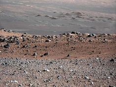 Oh it's only a picture from Mars!!