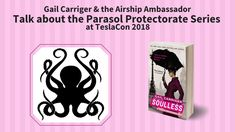 Gail Carriger & the Airship Ambassador discuss the Parasol Protectorate series at TeslaCon 2018 Gail Carriger, Custom Corsets, How Did It Go, Things To Sell, Steampunk, Youtube, Youtubers, Youtube Movies