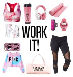 """#gym #look #gymlook #workout #workit #nike #chiara #yoga"" by itscamipadilla on Polyvore featuring Onzie, NIKE, Nicki Minaj, Chiara Ferragni, Chicnova Fashion, G-Shock, women's clothing, women, female and woman"