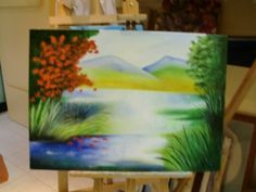 Tela a óleo Painting, Fabrics, Art, Painting Art, Paintings, Paint, Draw