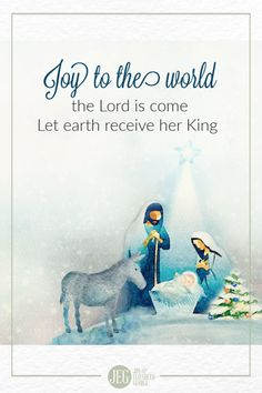 Joy to the world! the Lord is come; Let earth receive her King; Let every heart prepare him room, And heaven and nature sing. Year Bible Reading Plan, One Year Bible, Quote Posters, Quote Prints, Isaiah 9, Gold Wall Art, A Child Is Born, Christmas Blessings, Inspirational Posters