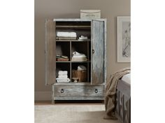 Shop for the Hooker Furniture Beaumont Dressing Chest at Olinde's Furniture - Your Baton Rouge and Lafayette, Louisiana Furniture & Mattress Store Grey Bedroom Set, Cubbies, Shelves, Cubby Storage, Hooker Furniture, Adjustable Shelving, Bookcase, Dressing, Antique