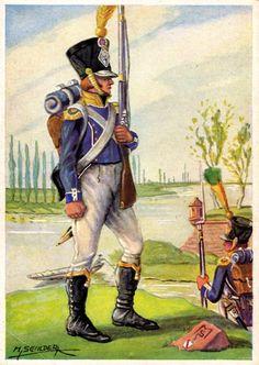 le 7e regiment d'infanterie légère de 1800 à 1815
