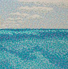 "Saatchi Art Artist Jeff Nabors; Painting, ""Gulf Stream"" #art"