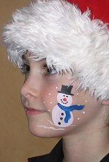 christmas face painting for boys - Yahoo Image Search Results - Kinderschminken - Kinder Face Painting Images, Face Painting For Boys, Face Painting Tutorials, Face Painting Designs, Face Paintings, Easy Face Painting, Children Painting, The Face, Face And Body