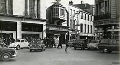 The junction of Winthrop Street and Patrick Street Cork City, Retro Pictures, Old Photos, Ireland, Street View, Product Launch, Thoughts, Old Pictures, Vintage Photos