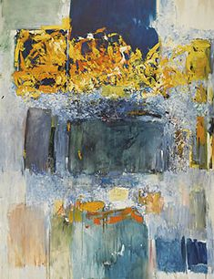 Discrete color blocked areas become connected through an additional medium between them. Art is and should be about the human connection. - joan mitchell