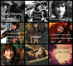 Mericcup baby- Made by me, hope u guys like it! I thought I'd be cute if Hiccup called his son Stoick <3 Erica Gouveia <3 <3 oh gosh!>>>>> awww this is so cute!