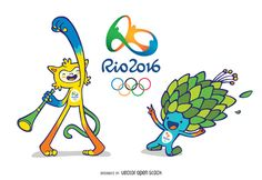 Rio 2016 Olympic and Paralympic Mascots
