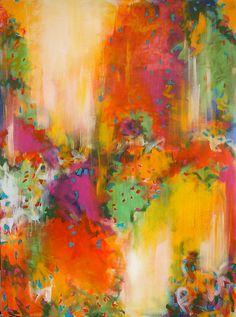 Luscious. 30 x 40. Acrylic on canvas. by csoccio100