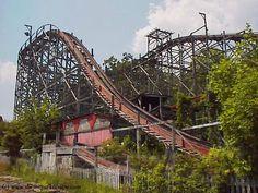 defunct amusement parks | Creepy, Crusty, Crumbling: Abandoned Theme Parks idora