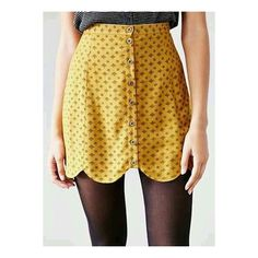 Mustard scallop edge skirt preppy ❤ liked on Polyvore featuring skirts, scallop edge skirt, mustard skirt, scalloped skirts, preppy skirts and mustard yellow skirt