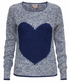 From the Heart! Cooler Pullover von Only #blue #fashion #trends