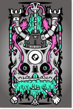 iphone 4 Flipside case by Diogo Machado, via Behance