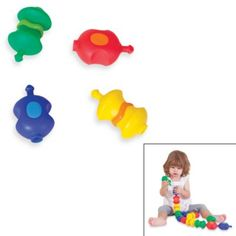 Edushape® 14-Piece Sensory Snap Beads from Buy Buy Baby 12+ mos. $22