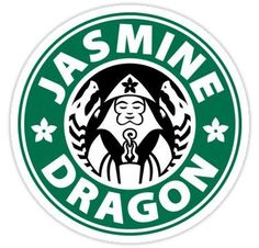 The Jasmine Dragon Sticker