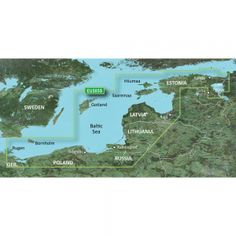 """Garmin BlueChart® g2 Vision® - VEU505S - Baltic Sea, East Coast - SD Card. BlueChart® g2 Vision® - Baltic Sea, East CoastVEU505S Covers:Coverage of the coasts of the Estonia, Latvia, Lithuania, Russia, and Poland from Kunda, Est. to Rügen, Ger. Includes Gotland, Bornholm, Gulf of Riga, Kaliningrad, Rus. and the Polish cities of Gdansk, Gdynia, and Szczecin. Specifications: Card Format: SD Port Plans: Yes Aerial Photos: Yes 3-D View: Yes Box Dimensions: 1""""H x 6""""W x 8""""L WT: 0.3 lbs UPC: 753759..."""