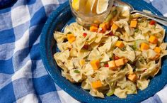 Lemon Dilly Pasta Salad Replace balsamic vin with ACVinegar, no cheese and gluten free noodles. Dill Dip Recipes, Epicure Recipes, Pasta Recipes, Salad Recipes, Cooking Recipes, Healthy Recipes, Healthy Meals, Cooking On A Budget, Budget Meals
