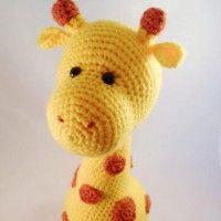 Gustave de Giraffe. Zo leuk om zelf te haken!