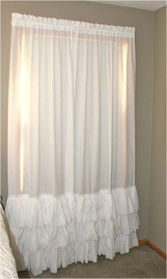 42 Beautiful Shabby Chic Bedroom Curtains 75 Ready To Ship 3 Ruffle Curtain … Shabby Chic Dining, Shabby Chic Living Room, Shabby Chic Interiors, Shabby Chic Farmhouse, Shabby Chic Bedrooms, Shabby Chic Kitchen, Shabby Chic Homes, Shabby Chic Furniture, Shabby Chic Decor