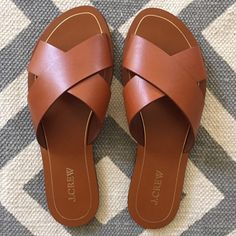 "Spotted while shopping on Poshmark: ""J. Crew Cyprus Sandals""! #poshmark #fashion #shopping #style #J. Crew #Shoes"