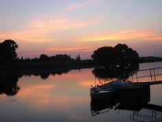 Sonnenuntergang - Mulde