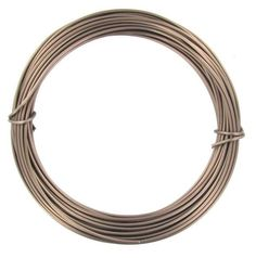 Anodized Aluminum Wire Chocolate Brown Color 12 Ga 39' Wire Jewelry Making #TheMastersCollection
