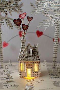 El Amor está en el Aire Libro intervenido por MalenaValcarcel