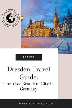 Dresden - The Most Beautiful City In Germany. Planning a trip to Dresden? Check out this travel guide and find the top things to see and do in Dresden, Germany including the best places to eat in Dresden, what to do in Dresden and where to eat in Dresden | Dresden Germany food | things to do Germany | Germany places to visit | Germany travel itineraries | Germany travel guide | travel itineraries Cities In Germany, Visit Germany, Germany Europe, Germany Travel, Solo Travel Tips, Europe Travel Tips, Travel Guide, Travel Destinations, Best Countries To Visit