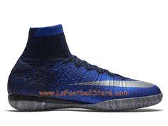 newest df316 59994 Nike MercurialX Proximo CR IC Chaussure de football en salle pour Homme  Bleu royal profond