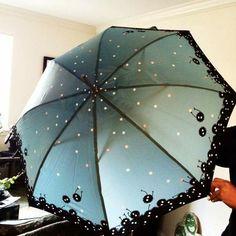 Totoro, guarda-chuva
