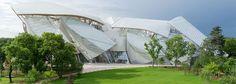 Fondation Louis Vuitton Paris (Boulogne) by Frank Gehry Design Museum London, Fondation Louis Vuitton, Frank Gehry, Zaha Hadid, Amazing Architecture, Contemporary Architecture, House Architecture, Minimal Architecture, Architecture Wallpaper