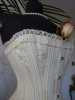 antique corset, antique bridal corset, victorian corset, victorian bridal corset, corset 1890, antieke corset, antik fuzo