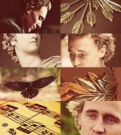 #TomHiddleston as #Apollo | via dragonfiretwistedwire: Greek Mythology Dreamcast | Very intruiging idea!