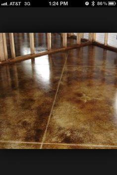 Concrete Basement Floor Ideas