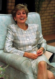 Princess Diana - I miss her style and panache... So much panache.